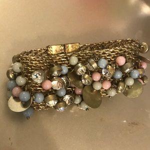 Anthropologie Statement bracelet